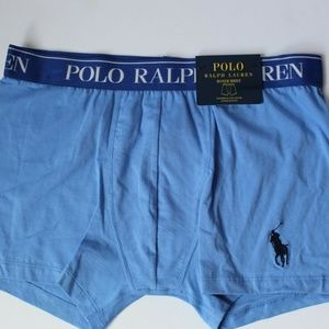 Polo Ralph Lauren Boxer Brief Blue Pony Large NEW
